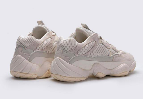 "Yeezy 500 ""Bone White"""