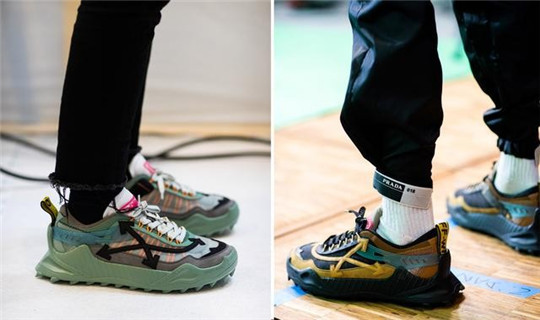 OFF-WHITE 2020 Autumn and Winter Series Shoes!