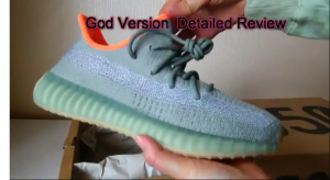 Real vs Fake Yeezy V2 Desert Sage