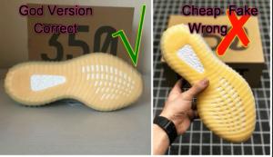 Real vs Fake Yeezy 350 V2 Desert Sage