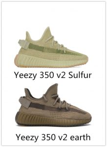 Yeezy 350 v2 earth and authentic Yeezy 350 v2 Sulfur