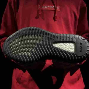 Yeezy Core Black Red replica without real boost