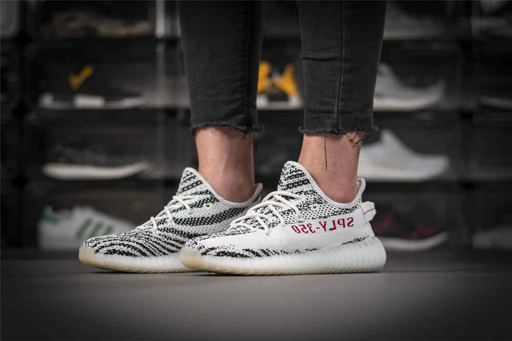 Best Fake Yeezy zebra (4)