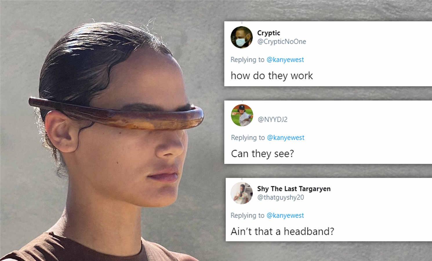 Yeezy Sunglasses replica