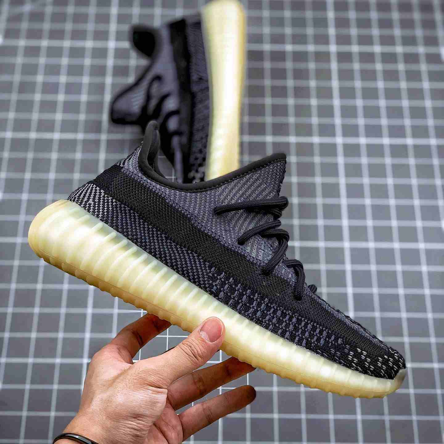 fake Yeezy Carbon Reflective